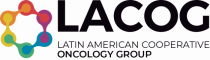 Logo horizontal completo preto e simbolo colorido